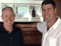 Tim Brennan and Eric Haughn